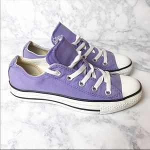 Converse All Star Low Purple Sneakers
